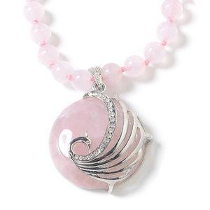 Jewelry - Galilea Rose Quartz Necklace
